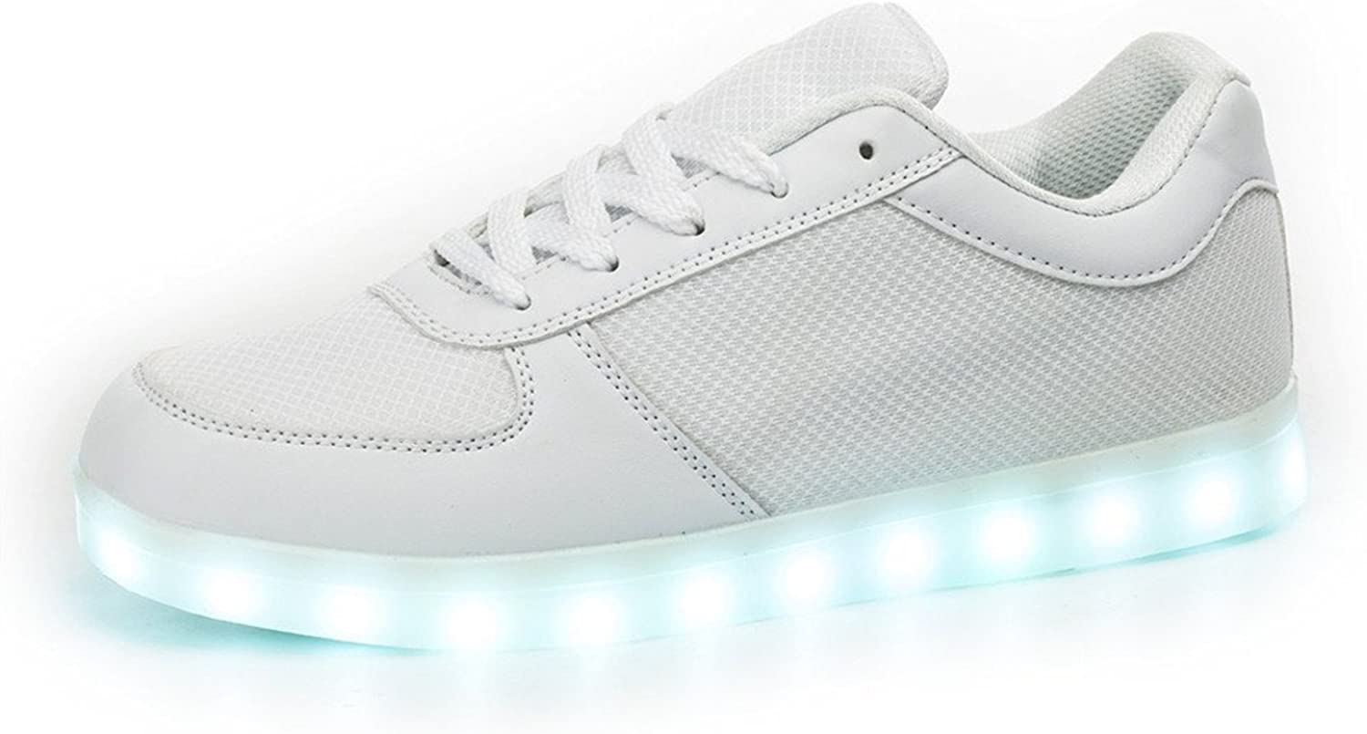 Losver Men's & Women's Wire Side Breathe Freely LED shoes Flashing Sneakers