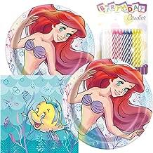 little mermaid napkins