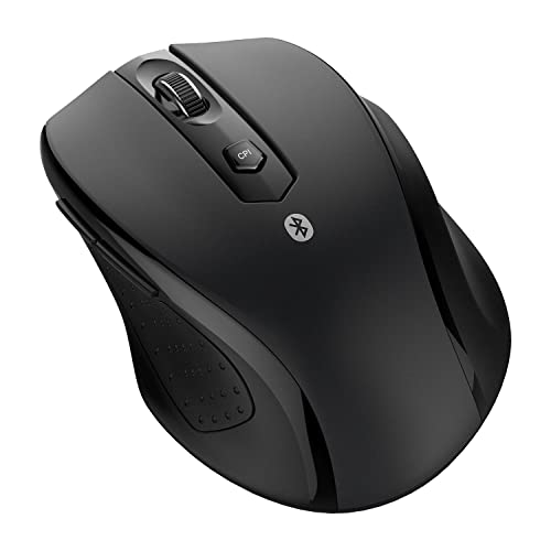 449b35c9d47 JETech M0884 Bluetooth Wireless Mouse for PC, Mac, and Android OS Tablet  with 6
