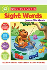 Scholastic Sight Words Jumbo Workbook: 300+ Practice Pages Targeting the Top 100 High-frequency Words Paperback