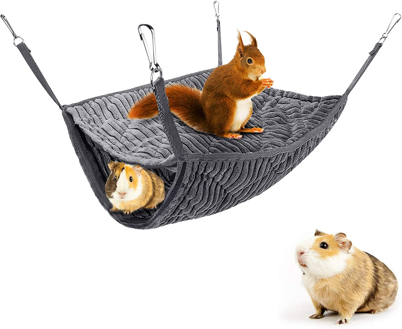 Small Animal Ferret Hammock Max 56% OFF Double Bunkbed Pet Rat Cage 5 ☆ popular