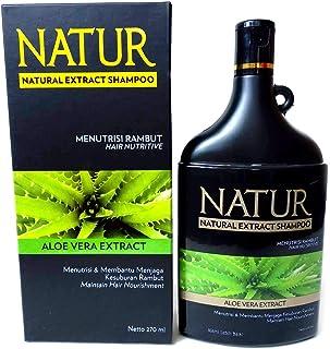 NATUR ナトゥール 天然植物エキス配合 ハーバルシャンプー 270ml Aloe vera アロエベラ [海外直商品]