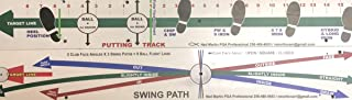 Perfect Swing Path Board (As seen on The Golf Channel Sandy Lyle #1 Golf Trainer