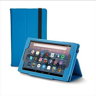 Nupro Custodia premium pieghevole per tablet Fire HD 8, colore: blu
