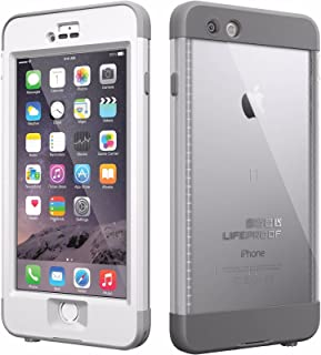 LifeProof iPhone 6 Plus Case - nüüd - for iPhone 6 Plus - White, Gray - Water Proof, Drop Proof, Snow Proof, Shock Proof, Dirt Proof, Dust Proof - 79.20