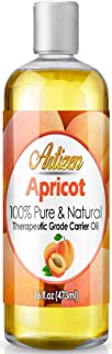 Artizen Apricot Oil - (100% Pure & Cold Pressed) - 16oz Bottle