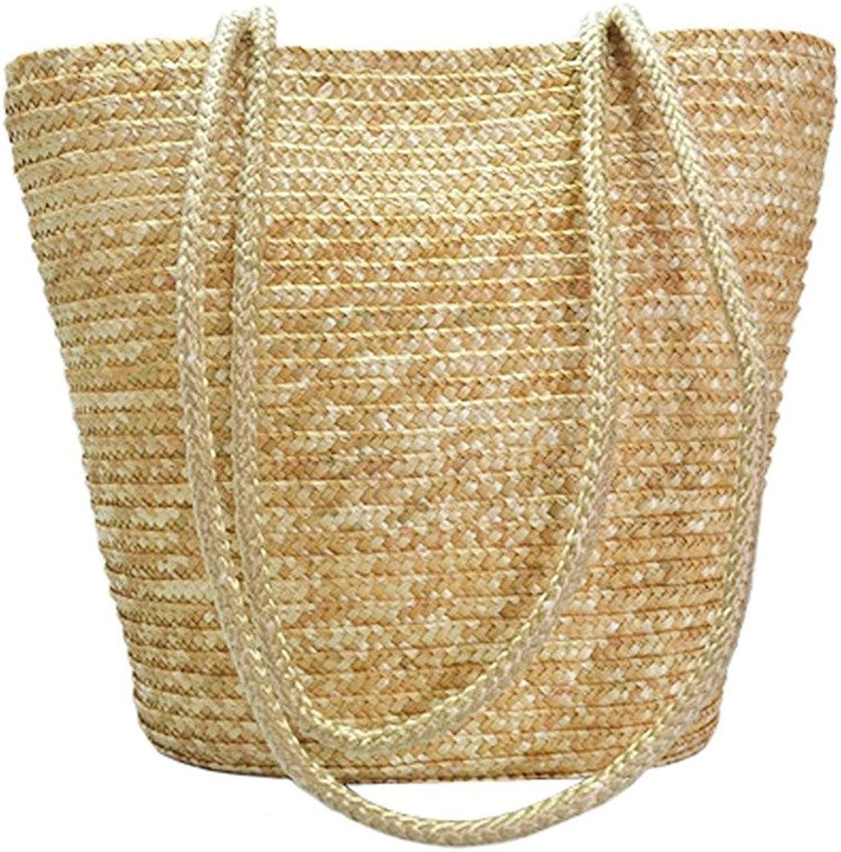 Meaeo Einfacher Einfacher Einfacher Eleganter Stroh Gesponnener Strand-Taschen-Beutel-Geldbeutel Der Europäischen Art B07F8Y9J9H  Für Ihre Wahl 93885e