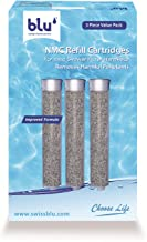 Blu Intelligent Health Solutions RF-NMC3-ISF-V3.0 NMC Refill Cartridge for the blu Ionic Shower Filter – Handheld – 3 Piec...
