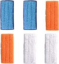 Adouiry Washable Mopping Pads for IRobot Braava Jet 240 Sweeping Pads, Reusable Wet Damp Dry (6 PCS)