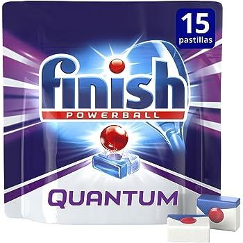 Finish Quantum Regular Pastillas para Lavavajillas - 15 pastillas ...