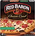 Red Baron, Classic Sausage & Pepperoni Pizza, 21.9 oz (Frozen)