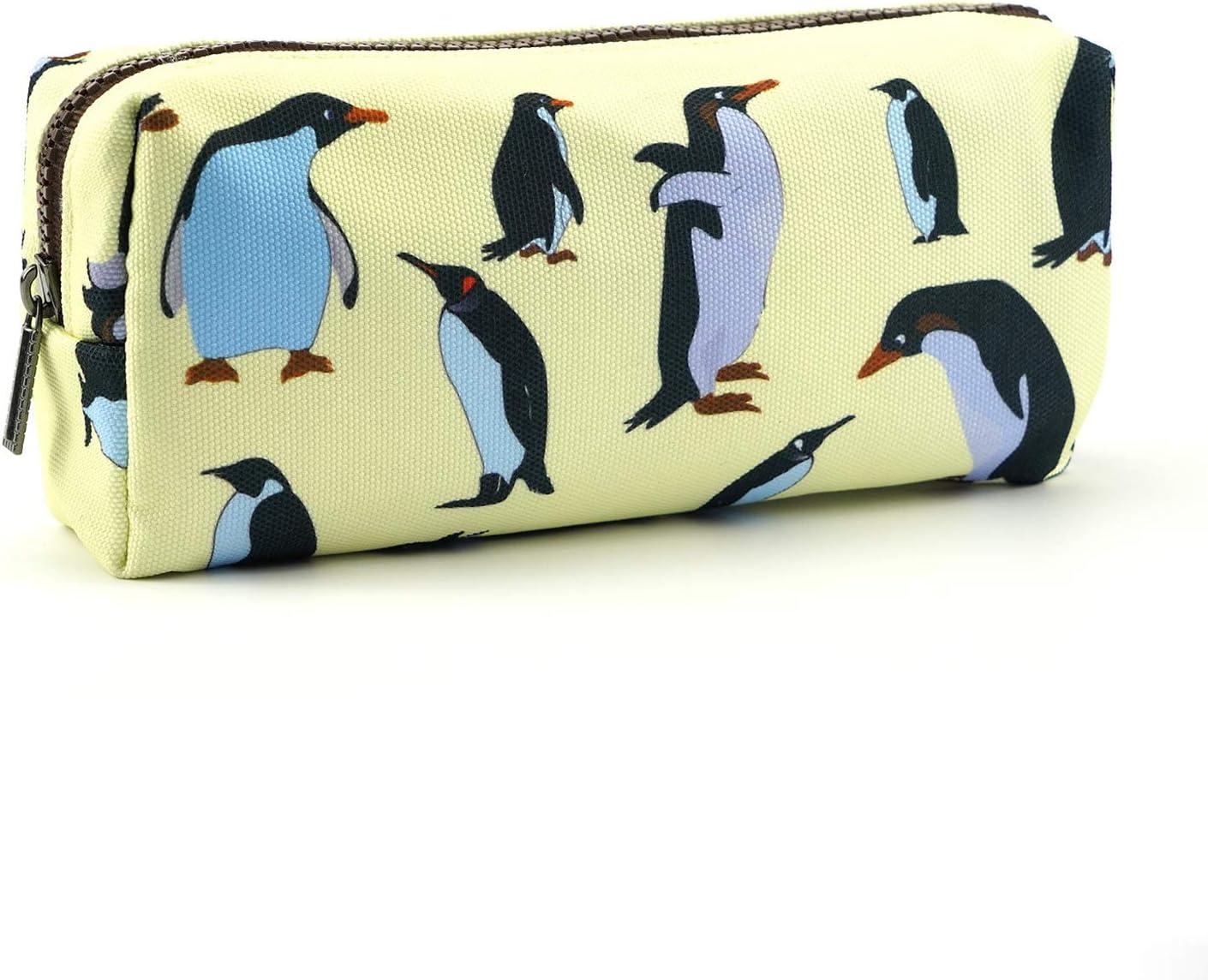 LParkin Penguins Canvas Pencil San Diego Mall Case Columbus Mall Bag Pouch Pen Stationary Cas