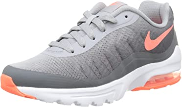 Nike Womens Air Max Invigor Print Running Shoe Wolf Grey/Dark Grey/Bright Mango 9.5