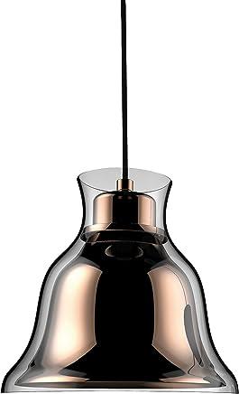 Alico ps8160?–?89?–?31シングルライトベル型ガラスのミニペンダント2番目、 7.8x8.3x8.3 in PS8160-89-31 1