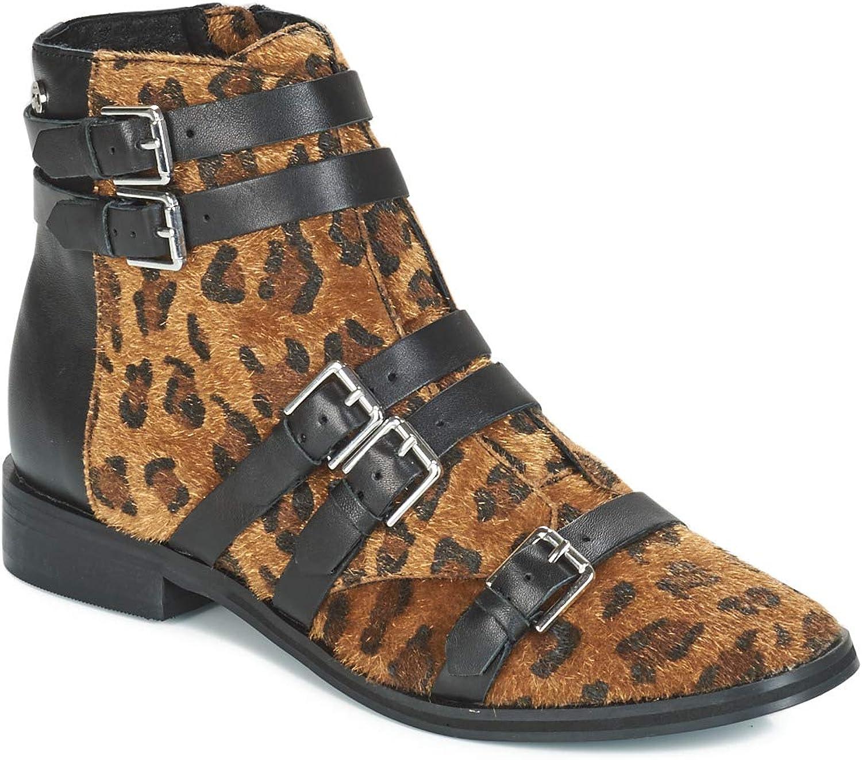 Le Temps des Cerises IZY Stiefelletten Stiefel Damen Leopard Low Stiefel