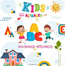 ABC Alphabet for Kids, Alphabet for household appliances with pictures for kids or children to learn A-Z