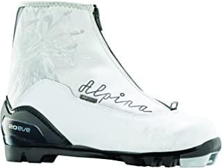 Alpina Women's T20 Eve Cross-Country Nordic Touring Ski Boots with Zippered Lace Cover