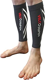 VeloChampion Compression Calf Guards, Sleeves, Leg Compression for Sports, Work, Travel, Varicose Veins, DVT, Pregnancy, T...
