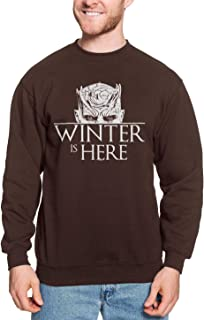 Winter is Here - Night King White Walker GOT Unisex Crewneck Sweatshirt