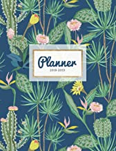 Planner 2018-2019: Cactus Print 18-Month Weekly Planner || July 2018 - Dec 2019 Weekly View || To-Do Lists, Inspirational Quotes + Much More (Cactus Planners) (Volume 1)