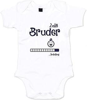 shirtdepartment Baby Body - Bruder 2018 .loading - von SHIRT DEPARTMENT