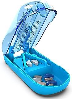 Pill Cutter Splitter Divider - Tablet Splitter Pill Chopper - Medication Quarter Cutter