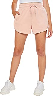 esstive Women's Midweight Loop Terry Casual Comfortable Short