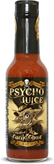 Psycho Juice Hot Chili Sauce Roasted Garlic Ghost Pepper
