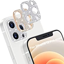 [2 Pack] Goton Bling Camera Lens Protector for iPhone 12...