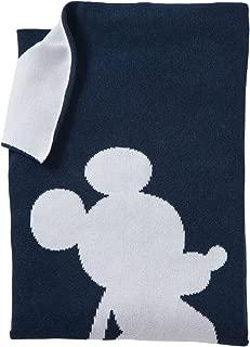 Ethan Allen | Disney Mickey Mouse Mr. Mouse Stroller Blanket, Midnight Blue