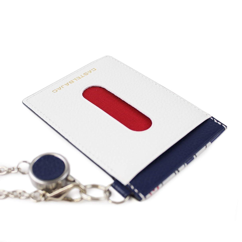 批評スリップコミュニケーション(カステルバジャック) CASTELBAJAC リール付きIDケース パスケース OPERA オペラ 031601