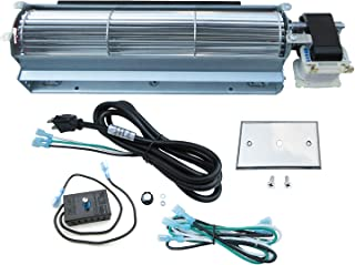 Direct store Parts Kit DN123 BK GA3650 GA3650B GA3700 GA3700A GA3750 GA3750A Fireplace Blower Fan Kit Rotom
