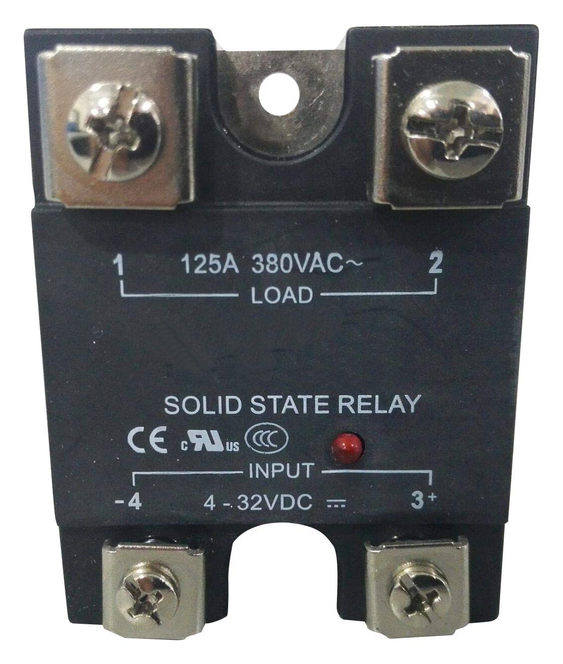 MULTICOMP MC002341 Solid Cheap bargain Be super welcome State Relay 125 VAC 660 A Panel Scr