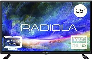 comprar comparacion Televisor Led 25 Pulgadas Full HD Smart TV. Radiola LD25100KA, Resolución 1920 x 1080P, HDMI, VGA, WiFi, TDT2, USB Multime...