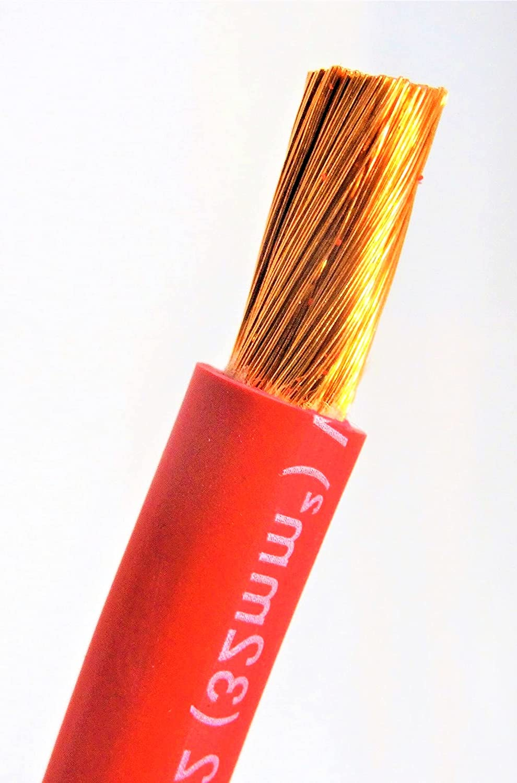 New 20' FT EXCELENE 2 AWG Welding Gauge Battery Cable Copp RED Finally resale start New arrival