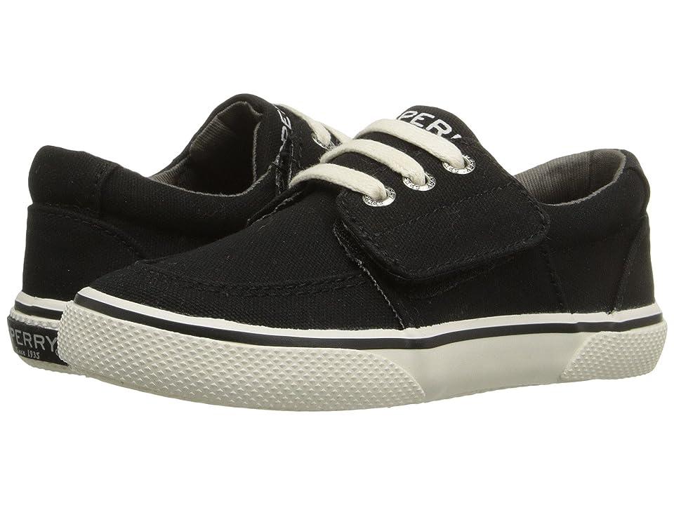 Sperry Kids Ollie Jr. (Toddler/Little Kid) (Black) Boys Shoes