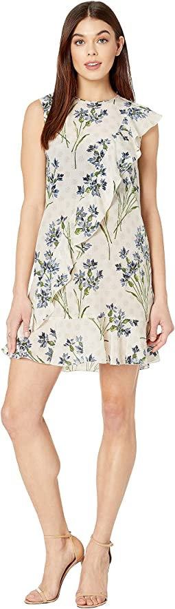 Cornflower Block Print Dress
