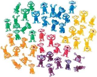 100 Funny Monkey Tiny Plastic Monkey Figures Party Favors