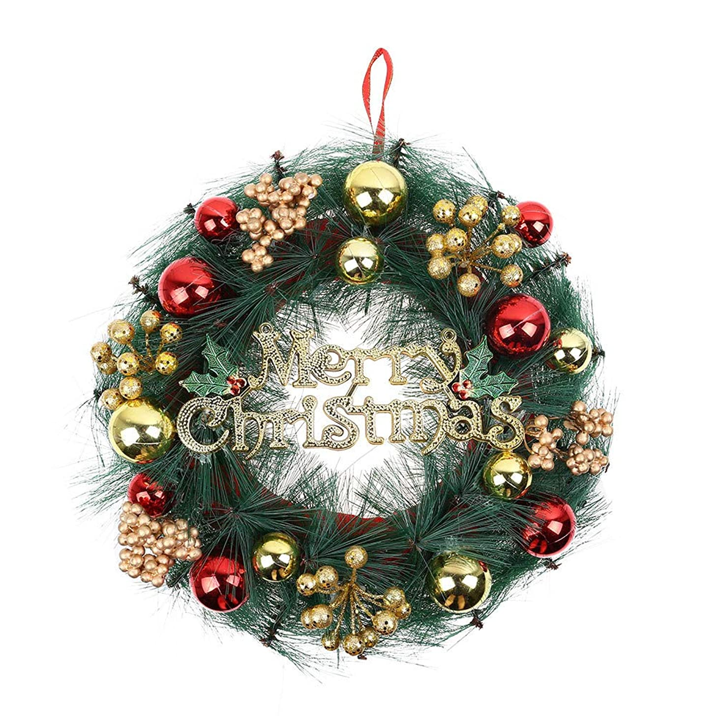 Christmas Wreath, Sacow Xmas Party Door Wall Hanging Garland Ornament 30CM (A)