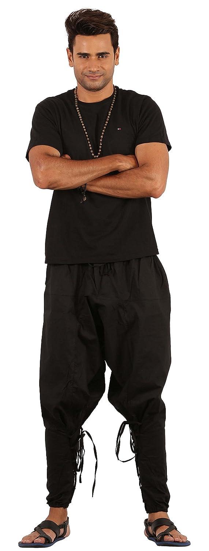 Black yoga wear clothing Cotton yoga harem pants Wide pants SHIDJERU Mens yoga pants Workout comfy pants Dance clothes mens Dance pants