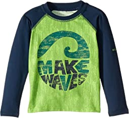 Cyber Green Wave Length Texture/Collegiate Navy