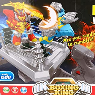 Ranoff Boxing King Robots Game 2 RC Boxing Robots Battle Family Game for Kids Recreational Machine Gift