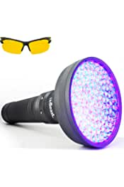 MeterMall A//C Fluid Gas Detection Kit LED Flash Light Safety Glasses UV Leak Detector Repair Tool