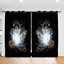 yucouhome Total Blackout Curtains, Mermaid Appreciation Society Blackout Small Window Curtains for Cafe, Bath, Laundry, Bedroom 2 Panel Set, 84W x 54L Inch/Pair