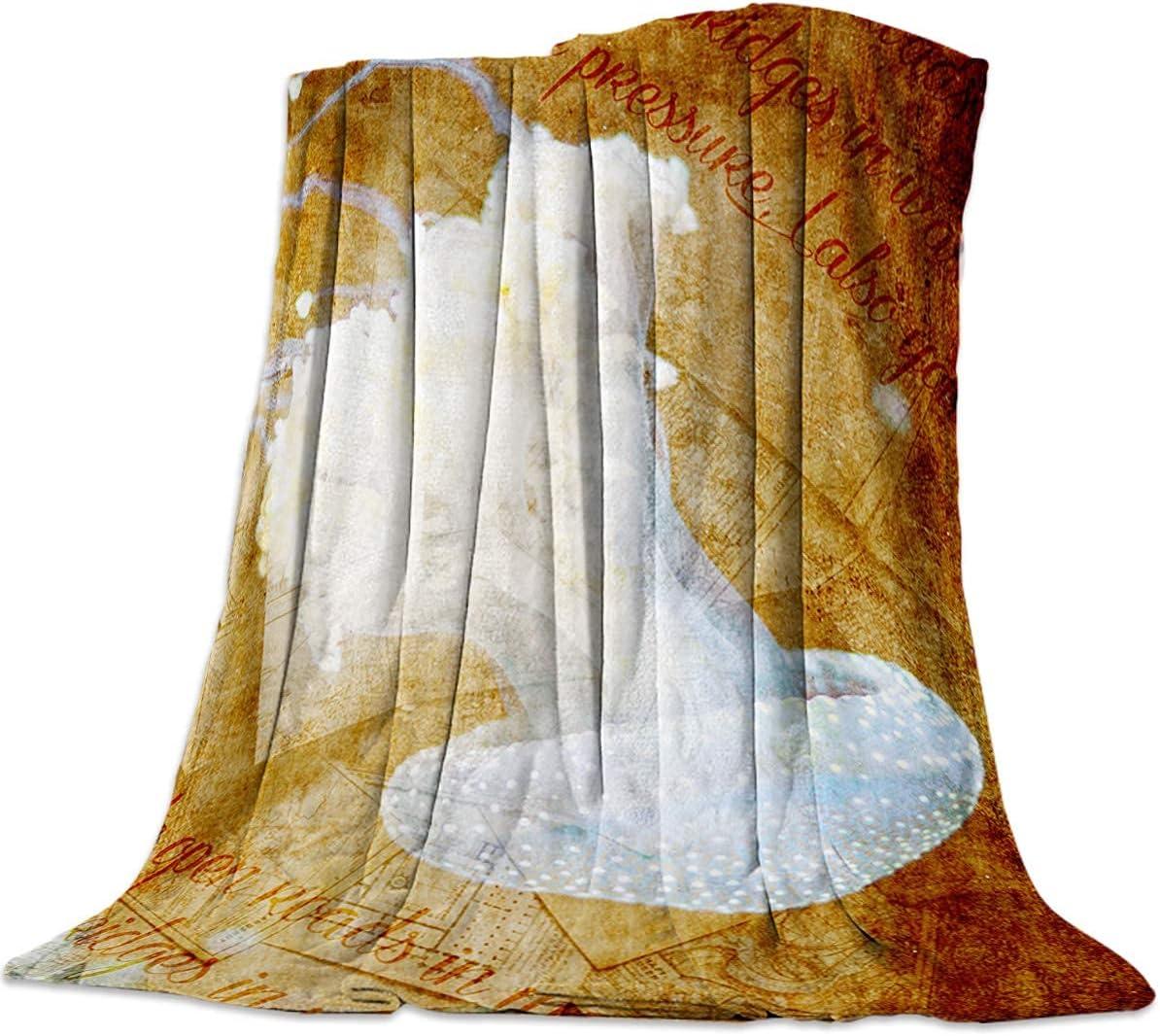 Popular brand in Regular discount the world Throw Blanket Warm Microfiber Plush Fleece Fuzzy Flannel