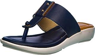 Cleo by Khadim's Women Navy Flat Sandal