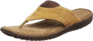 Woodland Men's 2668117 Camel Leather Slipper-8 UK (42 EU) (GP 2668117CAMEL)