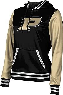 ProSphere Purdue University Girls' Pullover Hoodie, School Spirit Sweatshirt (Letterman)