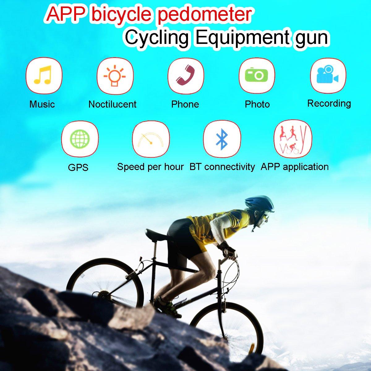 Á Pextech Bt300 Bluetooth V4.0 Bicicleta Velocímetro Impermeable ...
