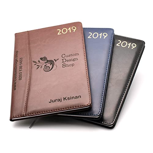a5c833d6e398 Personalised Premium Diary Organiser 2019 Faux Leather